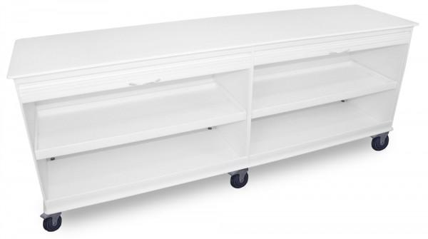 MRT Rollschrank mit 2 verschließbaren Fächern und Rollladentüre
