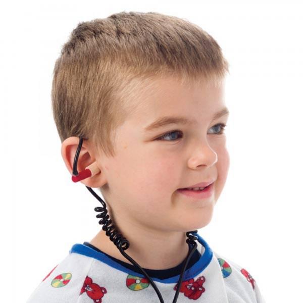 Pneumatischer Kopfhörerpads für MRT Kopfspule passend für GE