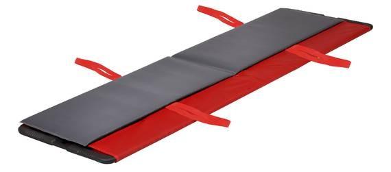 MRT Transferhilfe Rollboard (180 cm) mit Zugschlaufen und Haltegriffen