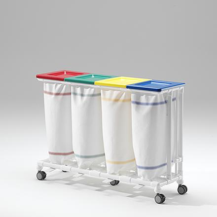 MRT vierfacher Wäschesammler