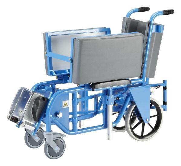 MRT faltbarer Schwerlast-Rollstuhl