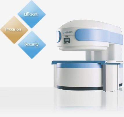 Permanent Magnet Resonanz Tomographie System 0,35T