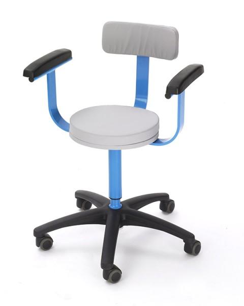 MRT Stuhl mit Armlehnen und Rückenlehne