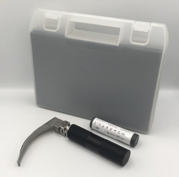 MRT Laryngoskop Griff + Batterie + Spatel MAC 3