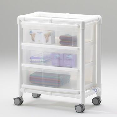 MRT Leichtteilewagen mit 3 Schubladen