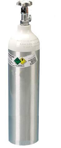 MRT taugliche 2 Liter Sauerstoffflasche inkl. Erstbefüllung
