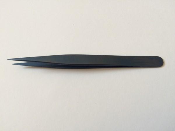MRT Titan Pinzette spitz, glatt, 125 mm