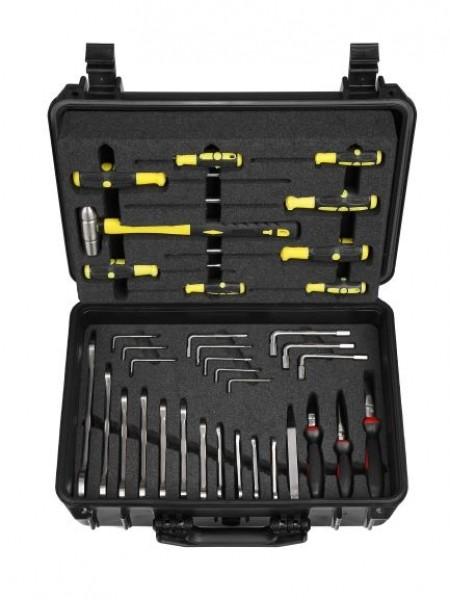 MRT Edelstahl Werkzeugkoffer (35 teilig)